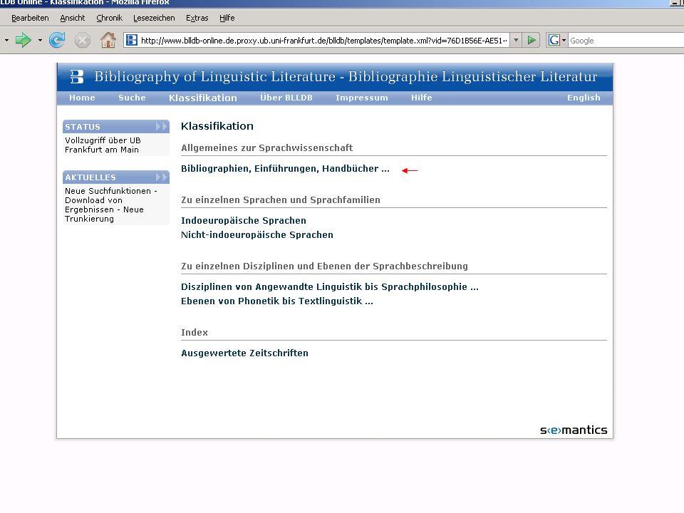 BLLDB und BDSL-online