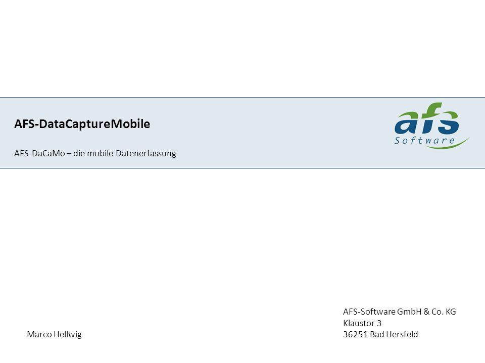 AFS-DataCaptureMobile
