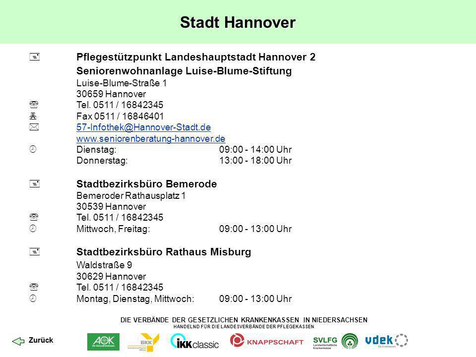Stadt Hannover Seniorenwohnanlage Luise-Blume-Stiftung