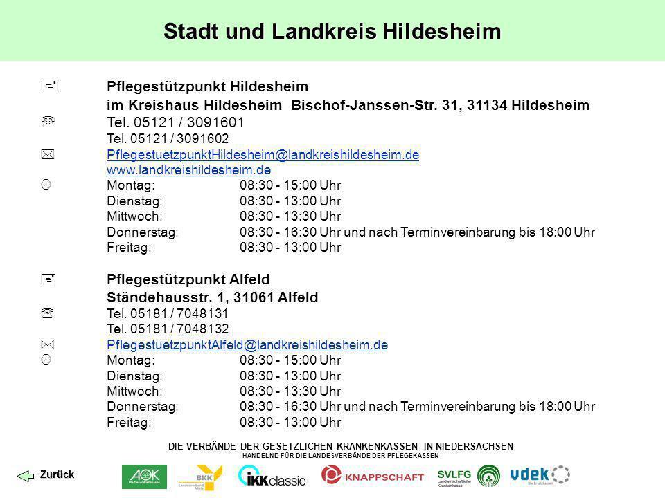 Stadt und Landkreis Hildesheim