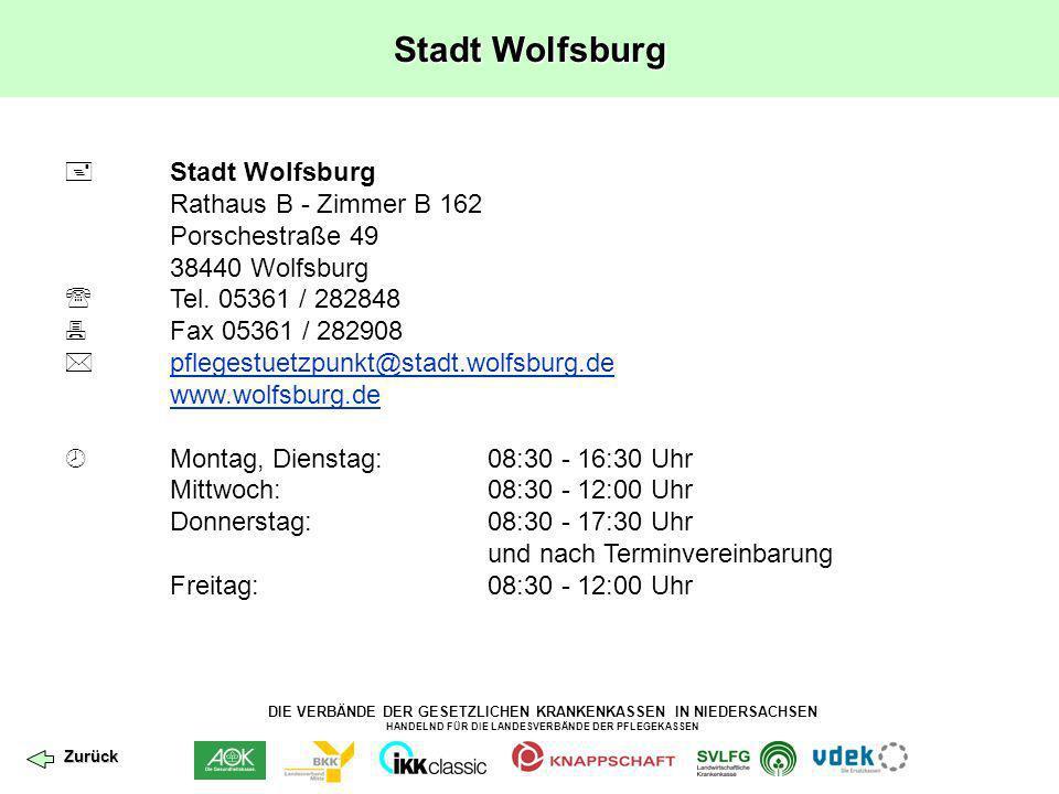 Stadt Wolfsburg  Stadt Wolfsburg Rathaus B - Zimmer B 162