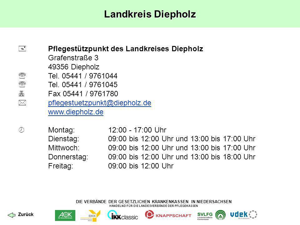 Landkreis Diepholz  Pflegestützpunkt des Landkreises Diepholz