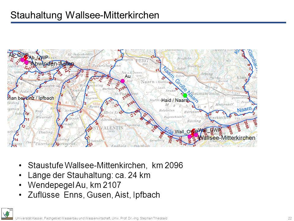 Stauhaltung Wallsee-Mitterkirchen