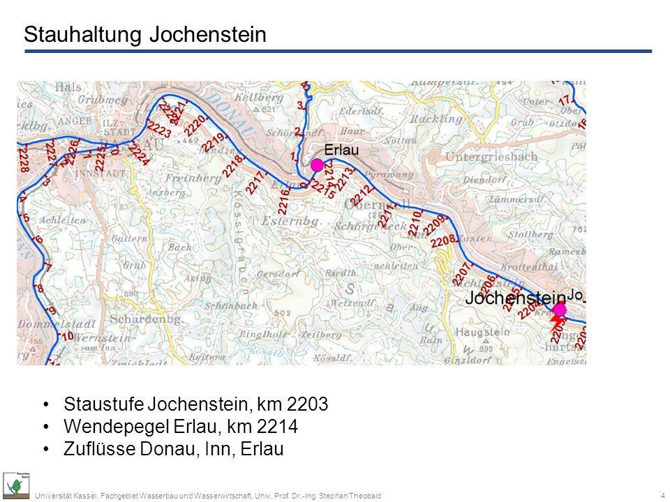 Stauhaltung Jochenstein