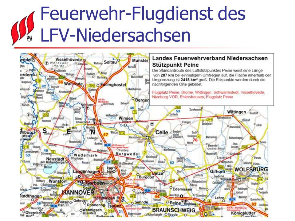 Feuerwehr-Flugdienst des LFV-Niedersachsen