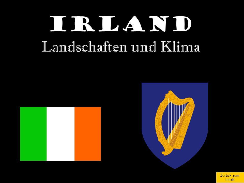 Irland Landschaften und Klima