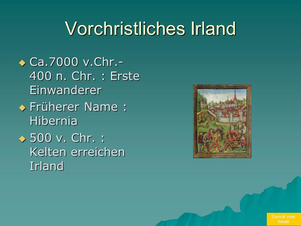 Vorchristliches Irland
