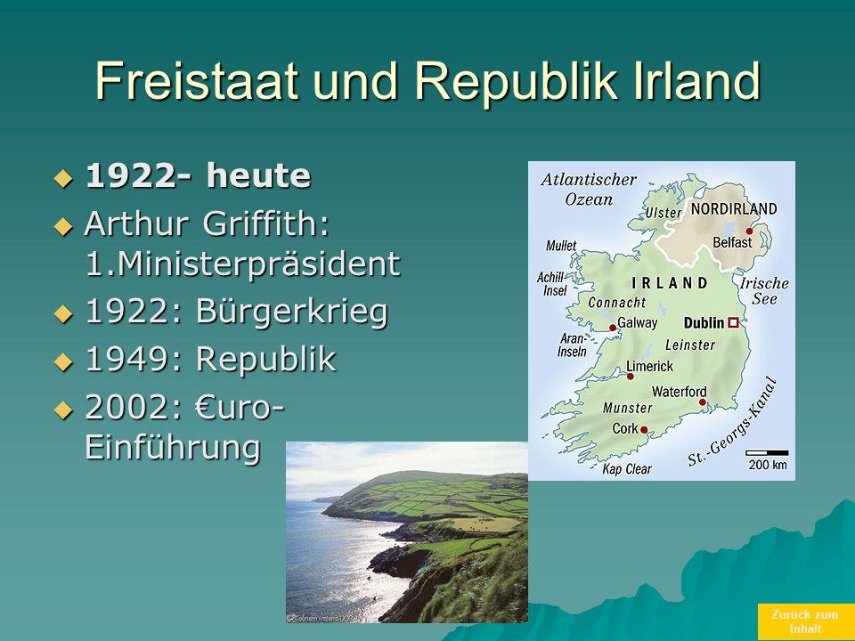 Freistaat und Republik Irland
