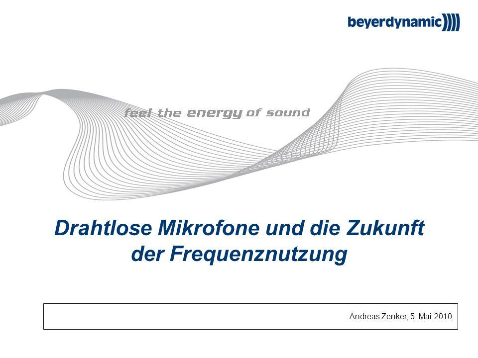 Drahtlose Mikrofone und die Zukunft der Frequenznutzung