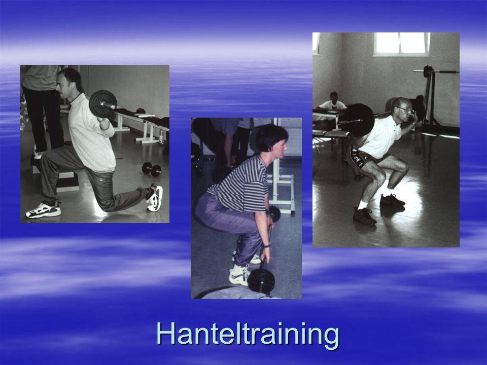 Hanteltraining
