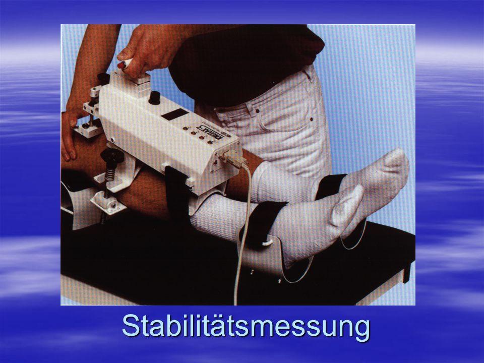 Stabilitätsmessung