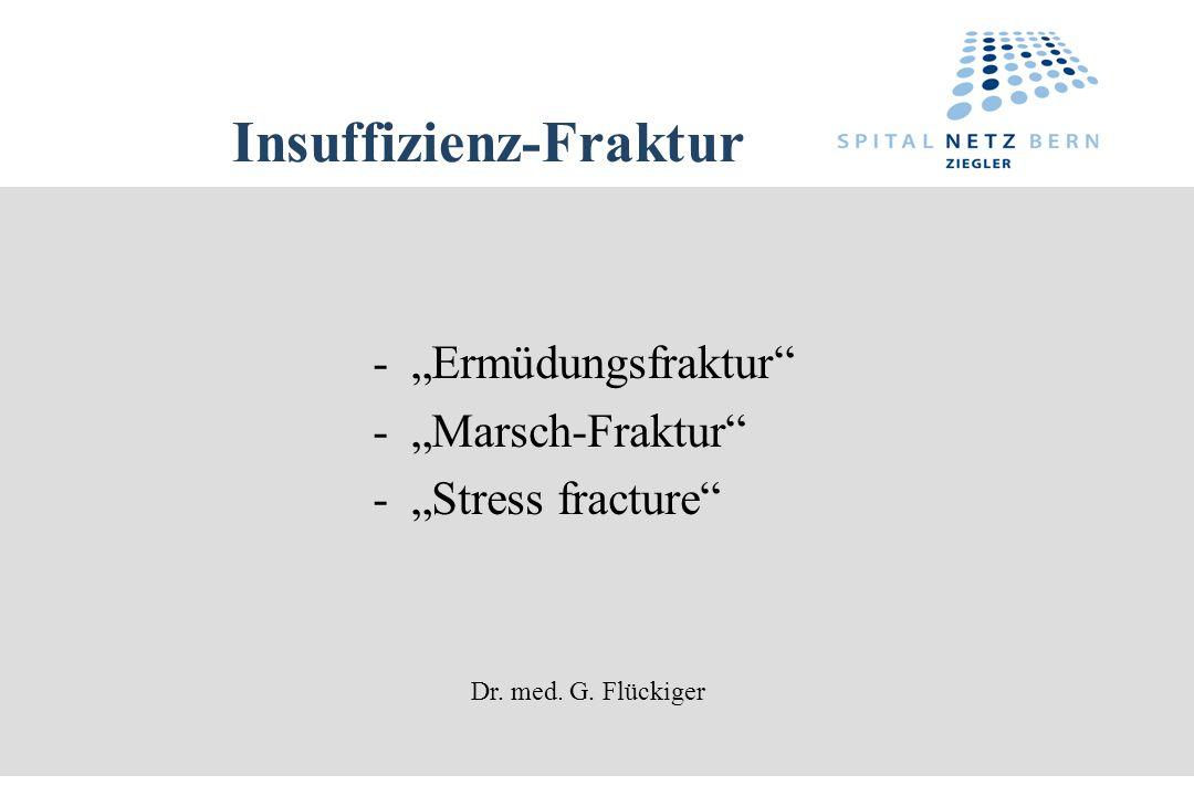 Insuffizienz-Fraktur