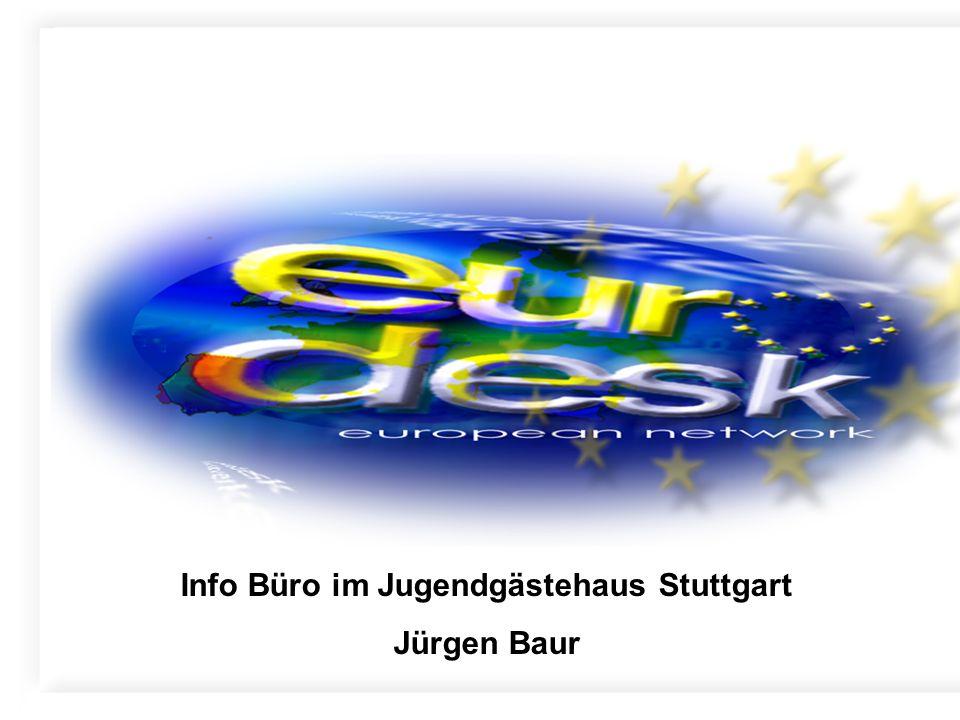 Info Büro im Jugendgästehaus Stuttgart