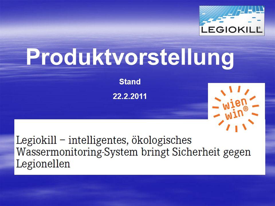 Produktvorstellung Stand 22.2.2011