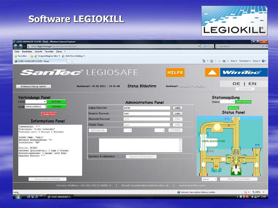 Software LEGIOKILL