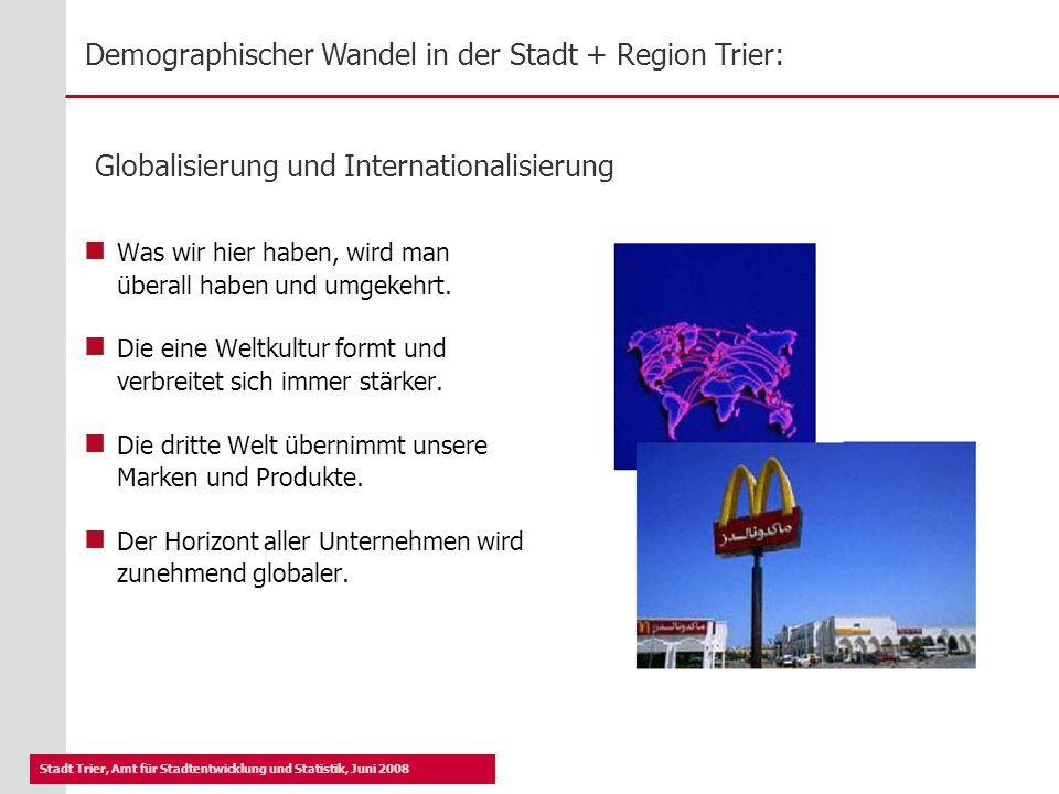 Globalisierung und Internationalisierung