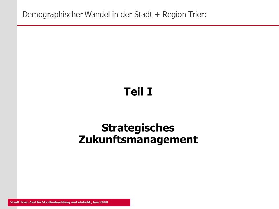 Strategisches Zukunftsmanagement