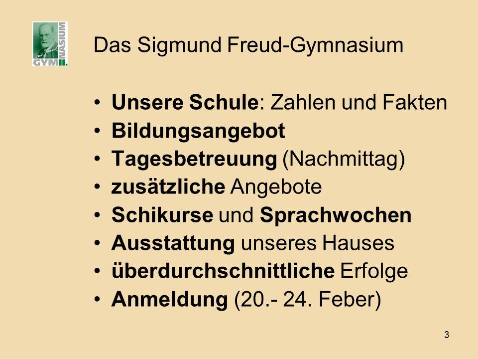 Das Sigmund Freud-Gymnasium