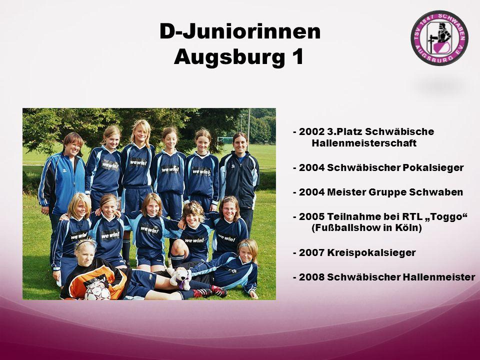 D-Juniorinnen Augsburg 1