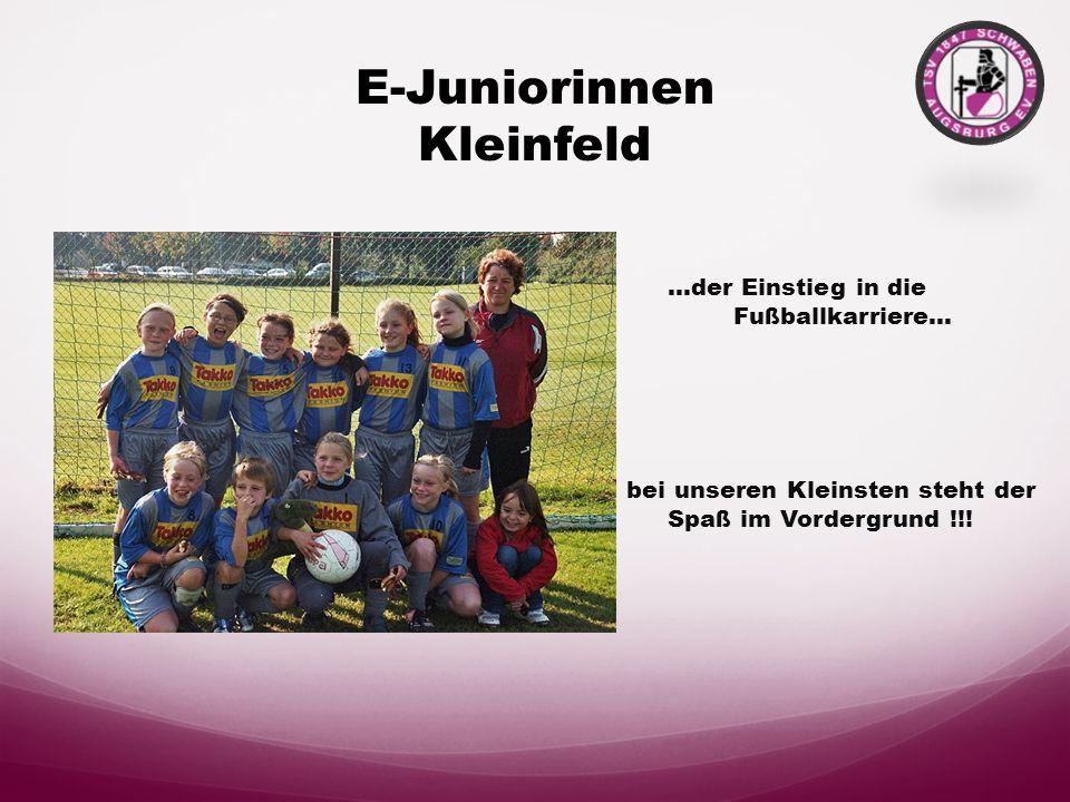 E-Juniorinnen Kleinfeld