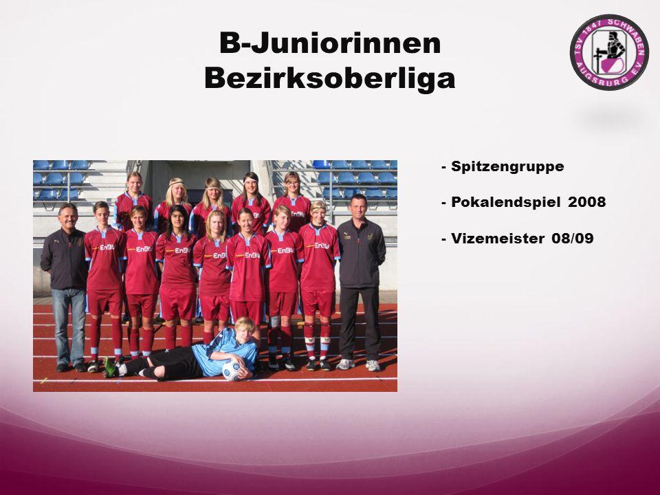 B-Juniorinnen Bezirksoberliga