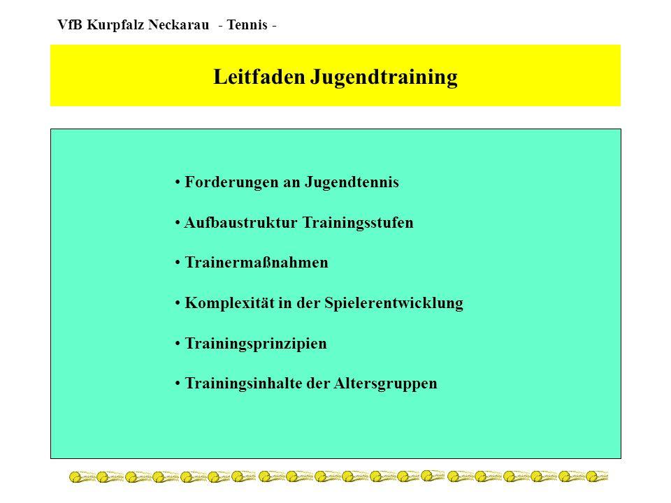 Leitfaden Jugendtraining