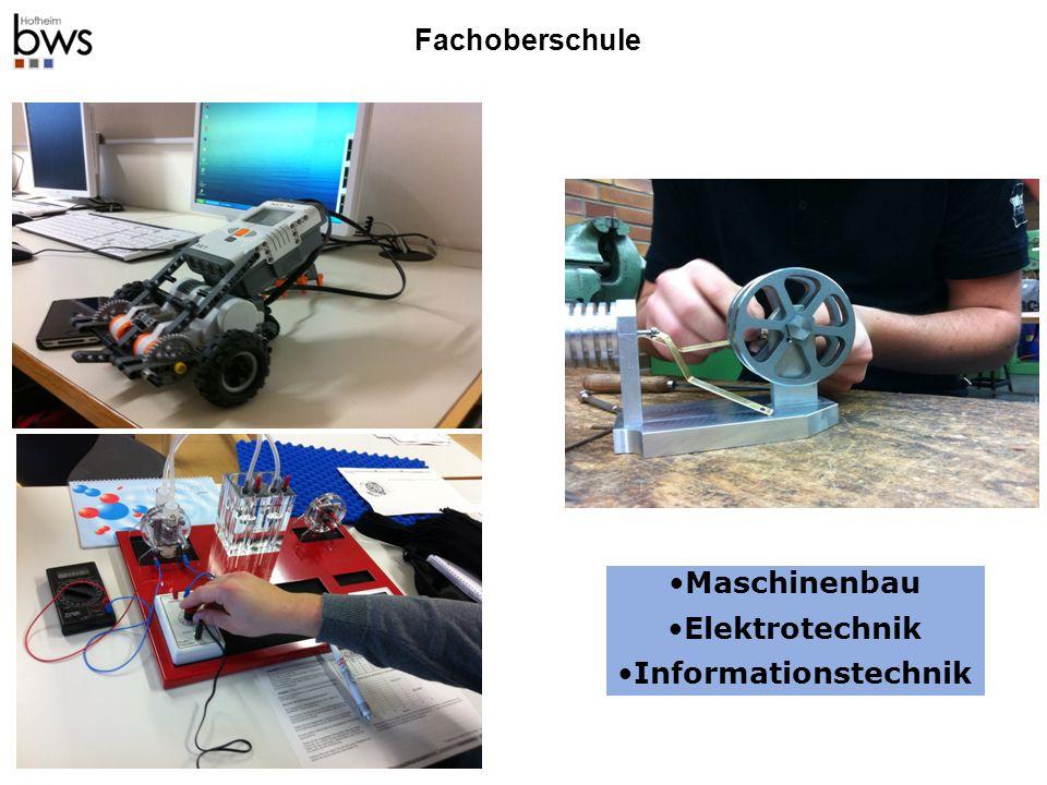 Fachoberschule Maschinenbau Elektrotechnik Informationstechnik