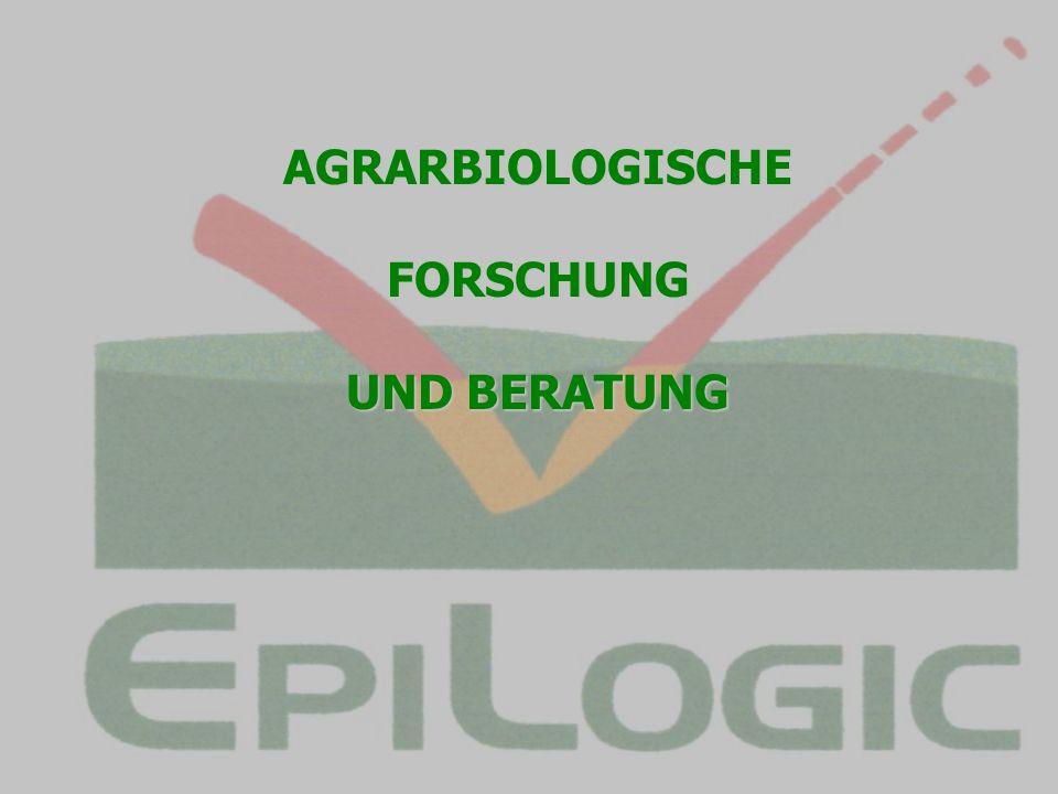 AGRARBIOLOGISCHE FORSCHUNG UND BERATUNG