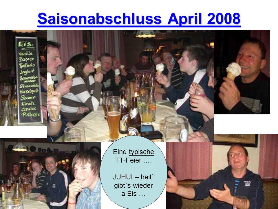Saisonabschluss April 2008