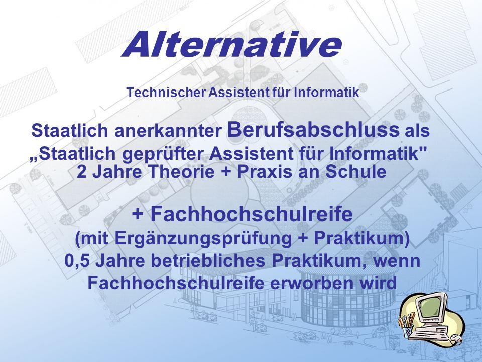 Alternative + Fachhochschulreife