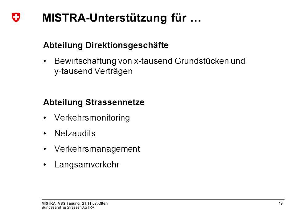 MISTRA-Unterstützung für …