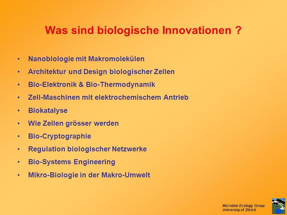 Was sind biologische Innovationen