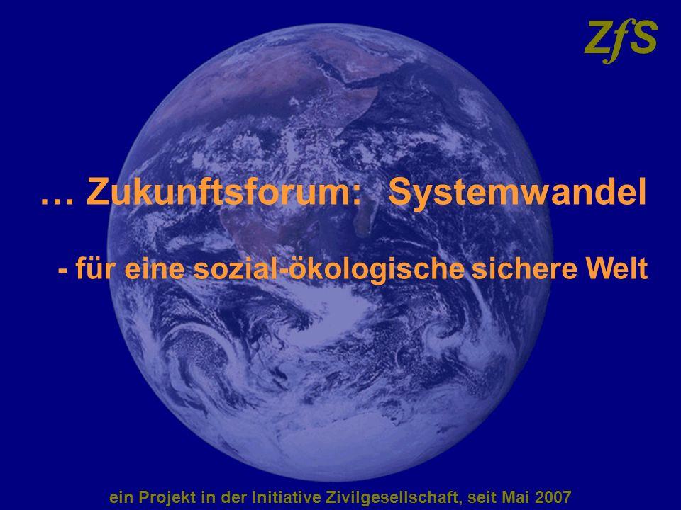 ein Projekt in der Initiative Zivilgesellschaft, seit Mai 2007