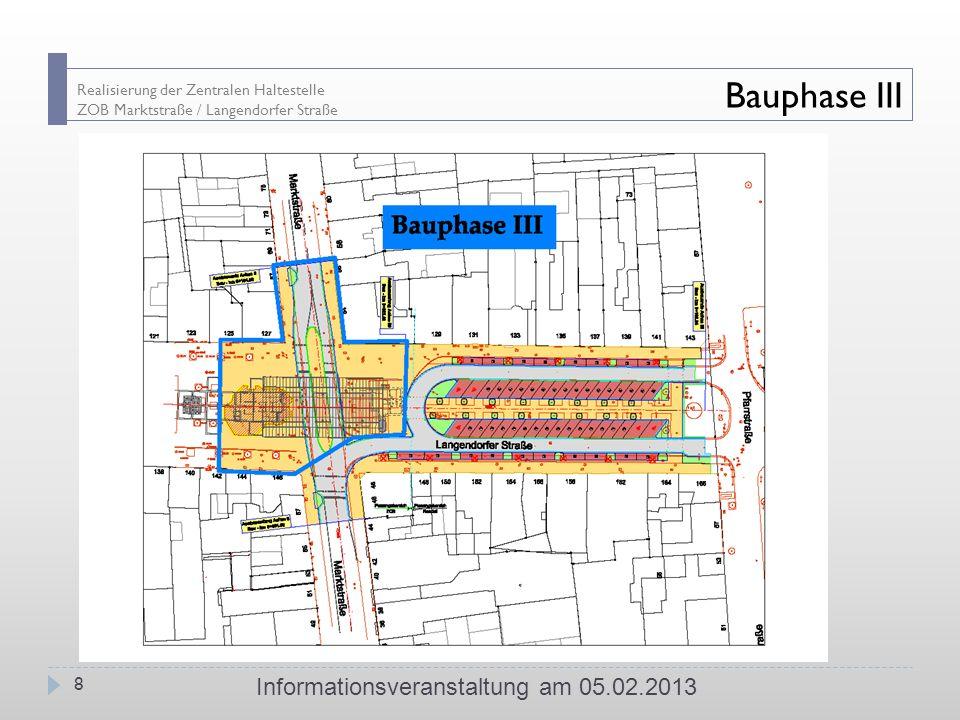Informationsveranstaltung am 05.02.2013