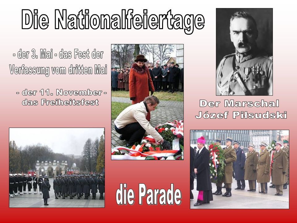 Die Nationalfeiertage