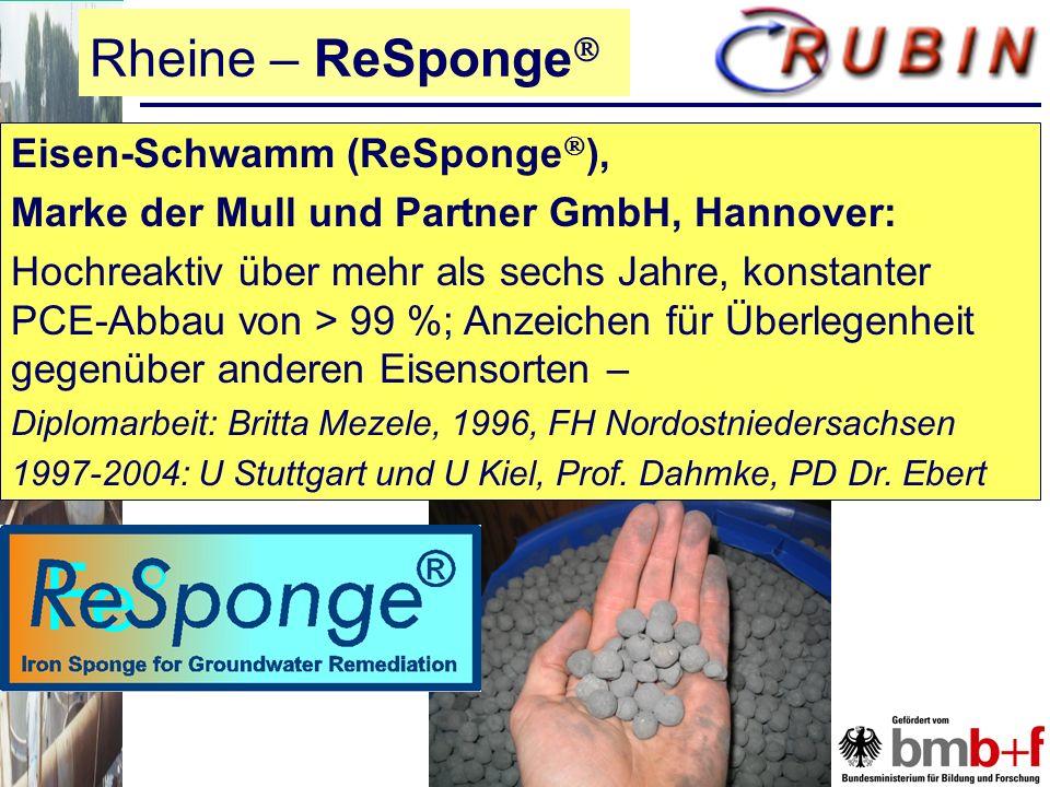 Rheine – ReSponge Eisen-Schwamm (ReSponge),