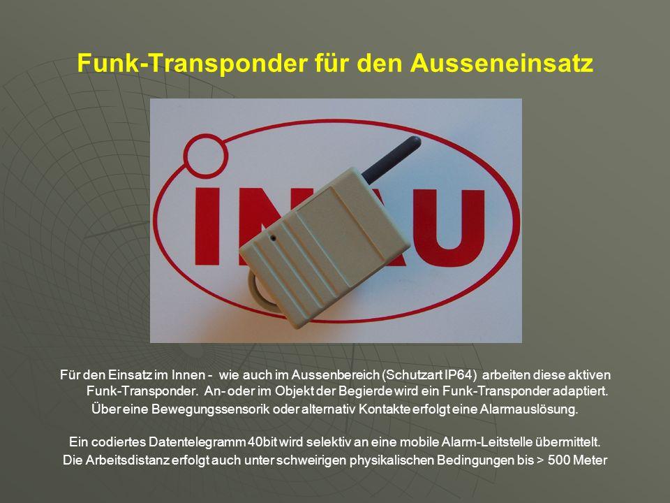 Funk-Transponder für den Ausseneinsatz