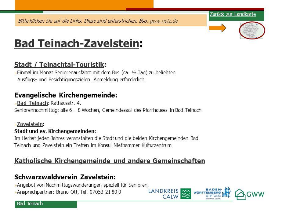Bad Teinach-Zavelstein: