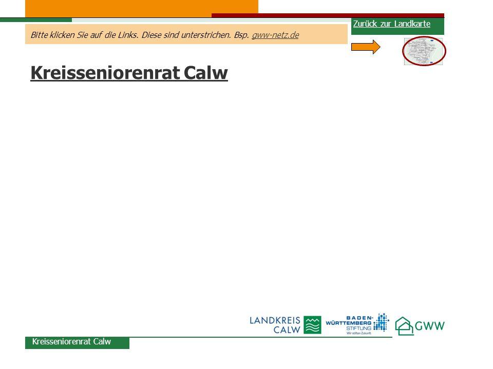 Kreisseniorenrat Calw