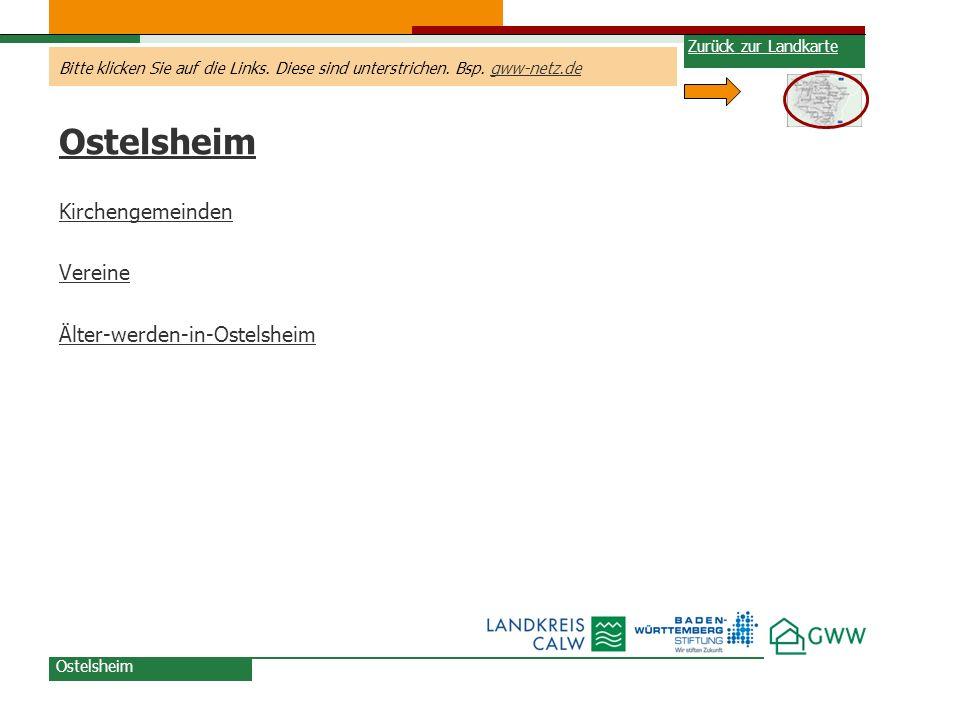 Ostelsheim Kirchengemeinden Vereine Älter-werden-in-Ostelsheim