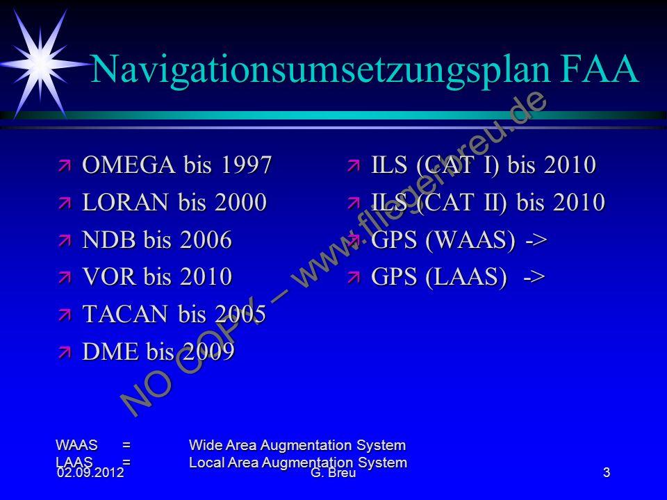 Navigationsumsetzungsplan FAA