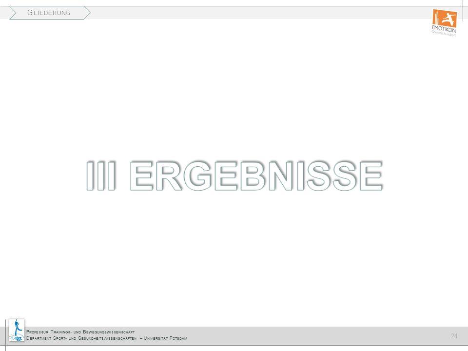 III ERGEBNISSE