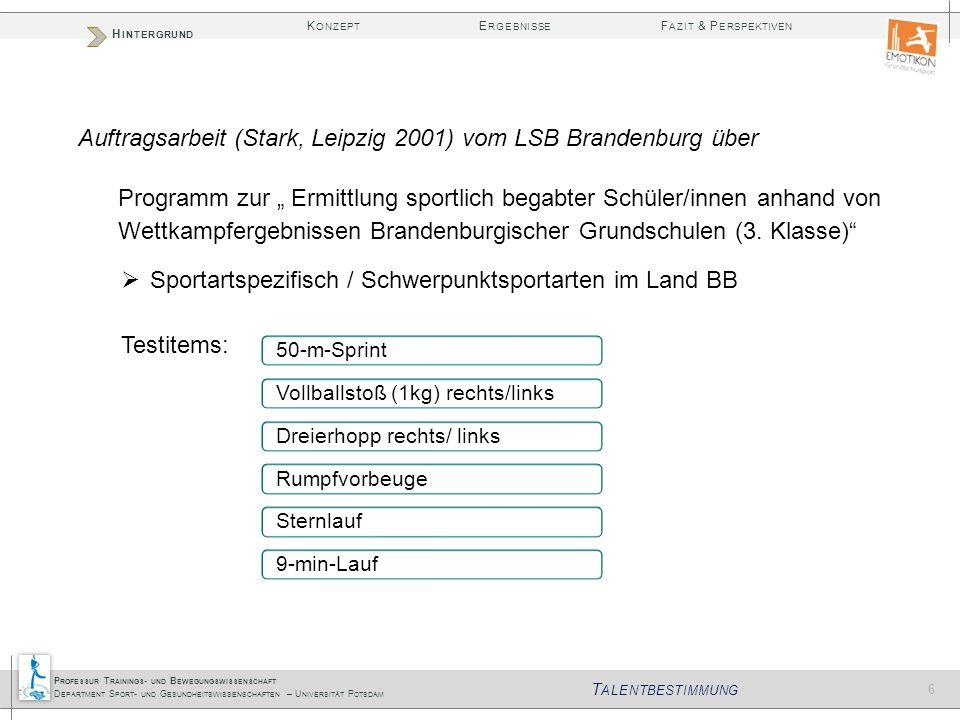 Auftragsarbeit (Stark, Leipzig 2001) vom LSB Brandenburg über