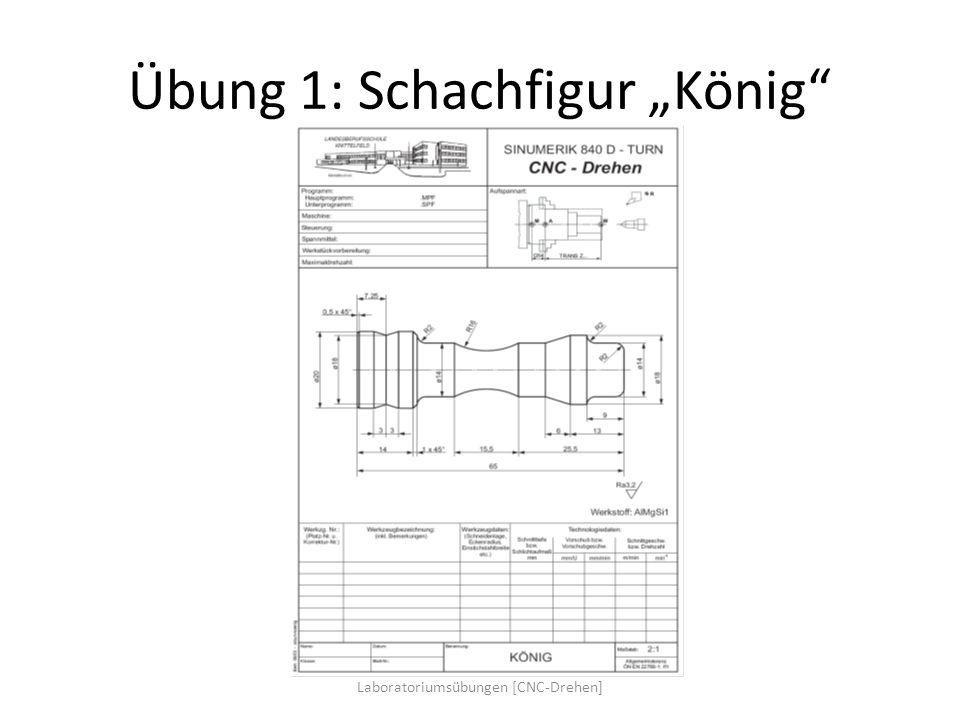 """Übung 1: Schachfigur """"König"""