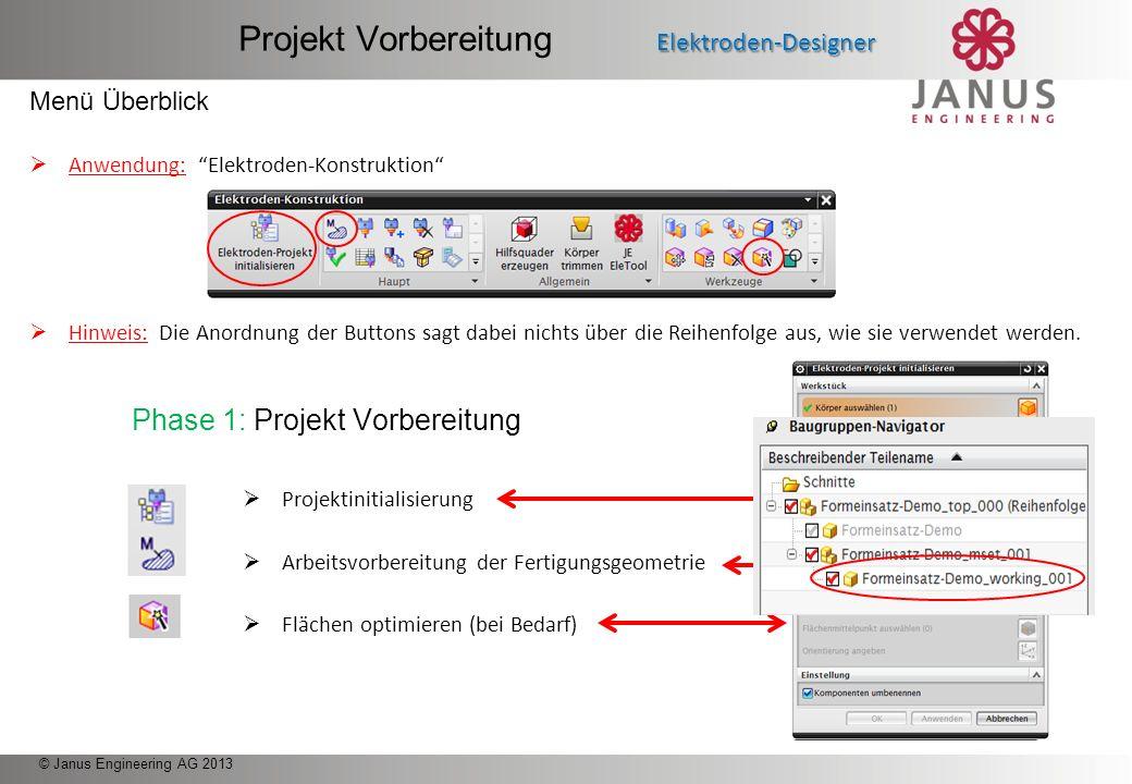 Projekt Vorbereitung Elektroden-Designer