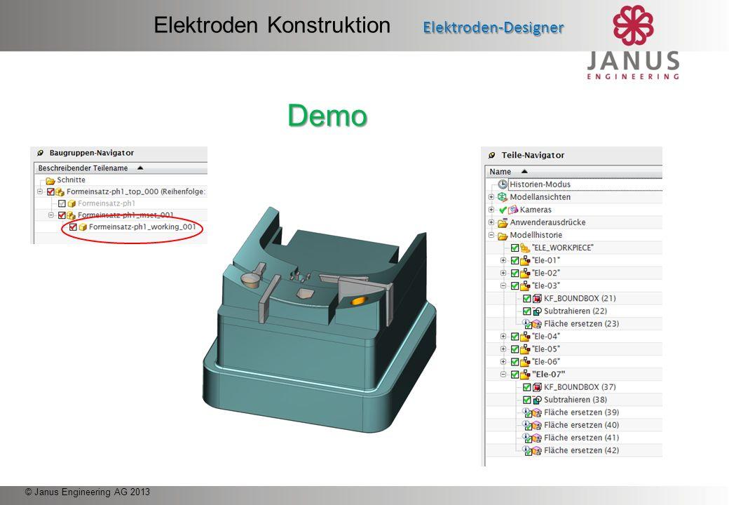 Elektroden Konstruktion Elektroden-Designer