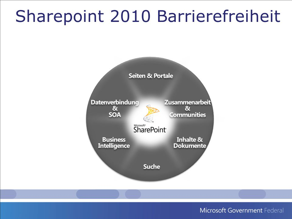Sharepoint 2010 Barrierefreiheit