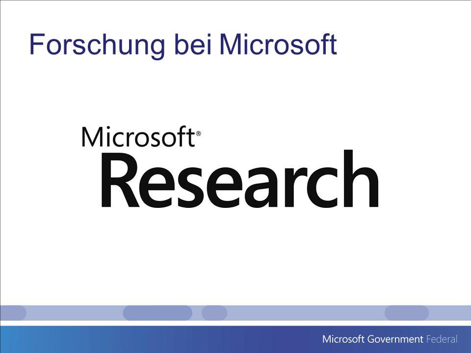 Forschung bei Microsoft