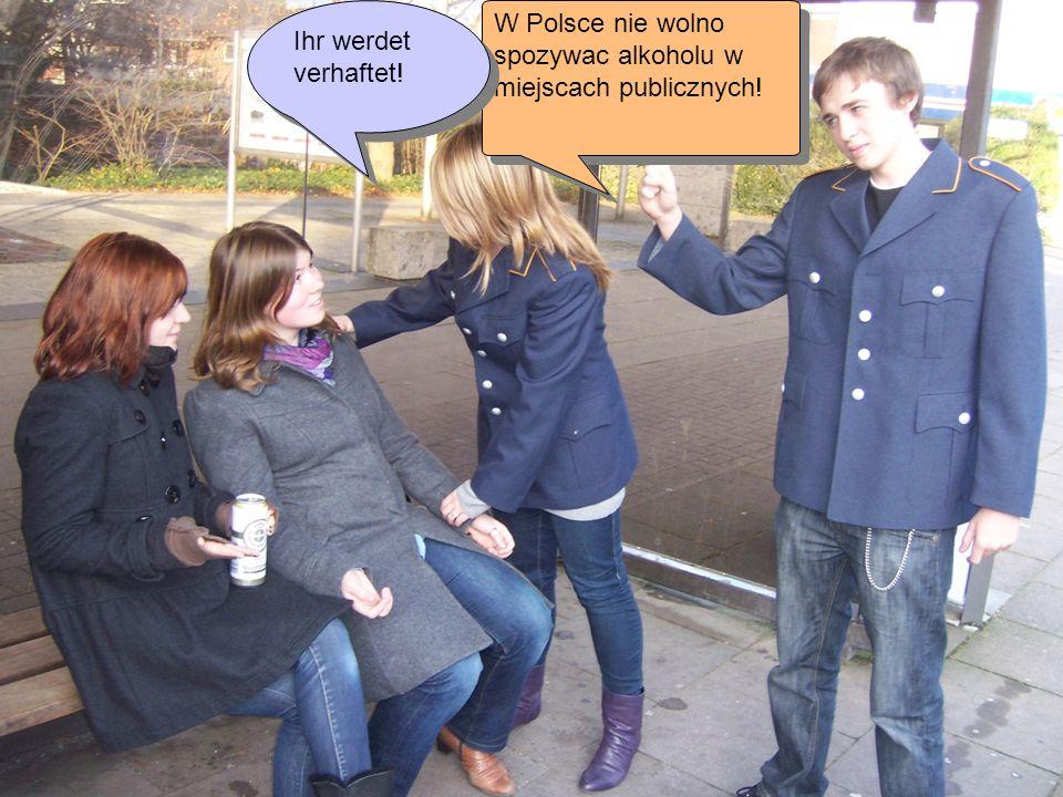 W Polsce nie wolno spozywac alkoholu w miejscach publicznych!