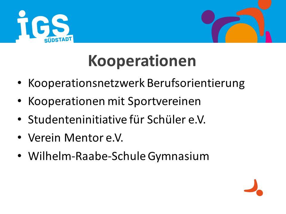 Kooperationen Kooperationsnetzwerk Berufsorientierung